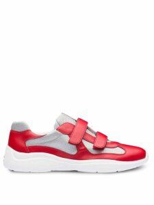 Prada colour-block sneakers - Red