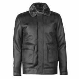 Firetrap Blackseal Shearling Jacket