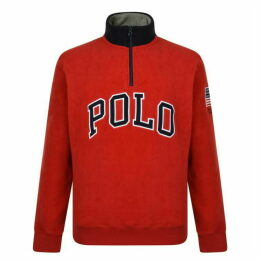 Polo Ralph Lauren Ski Usa Fleece Sweatshirt
