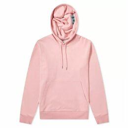 Helmut Lang Jeremy Deller 'Project Pink' Reversible Popover Hoody Pink