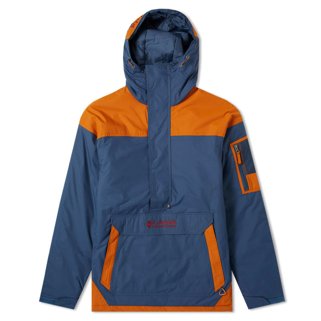 Columbia Challenger Pullover Jacket Dark Mountain, Copper & Red