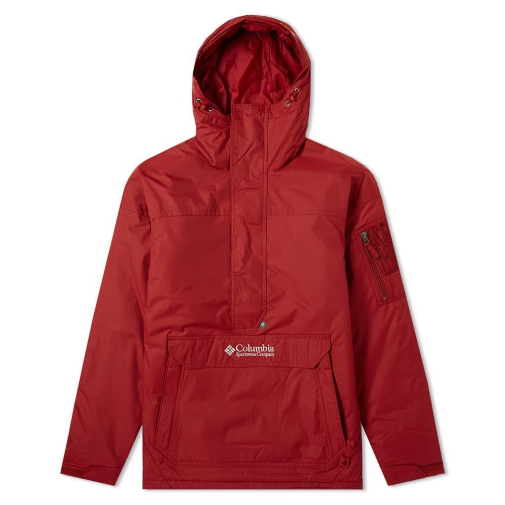 Columbia Challenger Pullover Jacket Red Element & Soft Metal