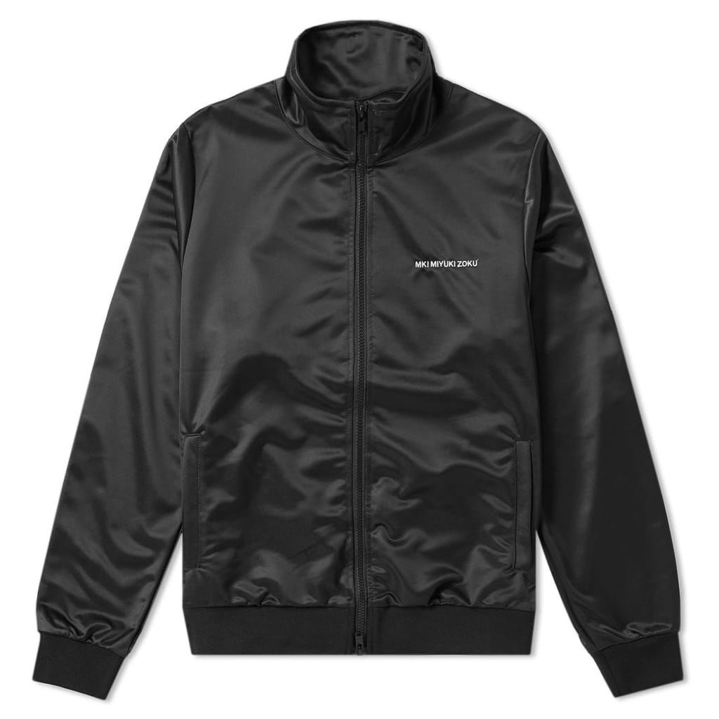 MKI Taped Track Jacket Black, Brown & Off-White