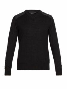 Canada Goose - Mcleod Wool Sweater - Mens - Black