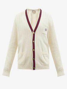 Audrey Louise Reynolds - Tie Dye Hooded Cotton Sweatshirt - Mens - Purple