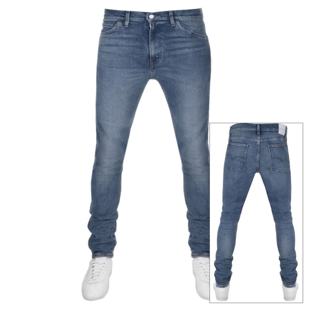 Levis Line 8 Skinny Fit Jeans Blue