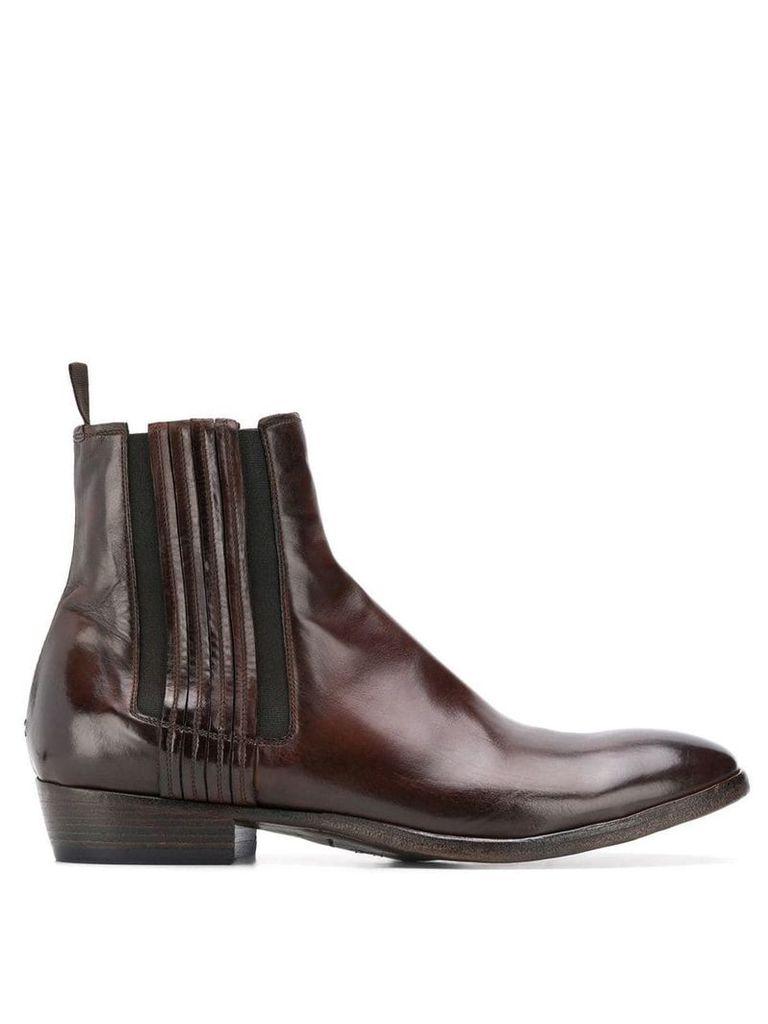 Silvano Sassetti classic boots - Brown