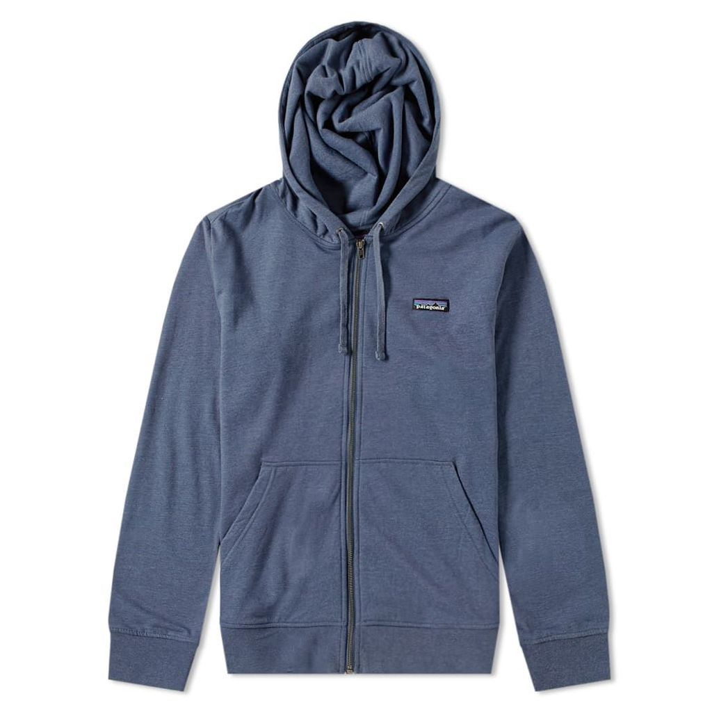 Patagonia P-6 Label Lightweight Zip Hoody Dolomite Blue
