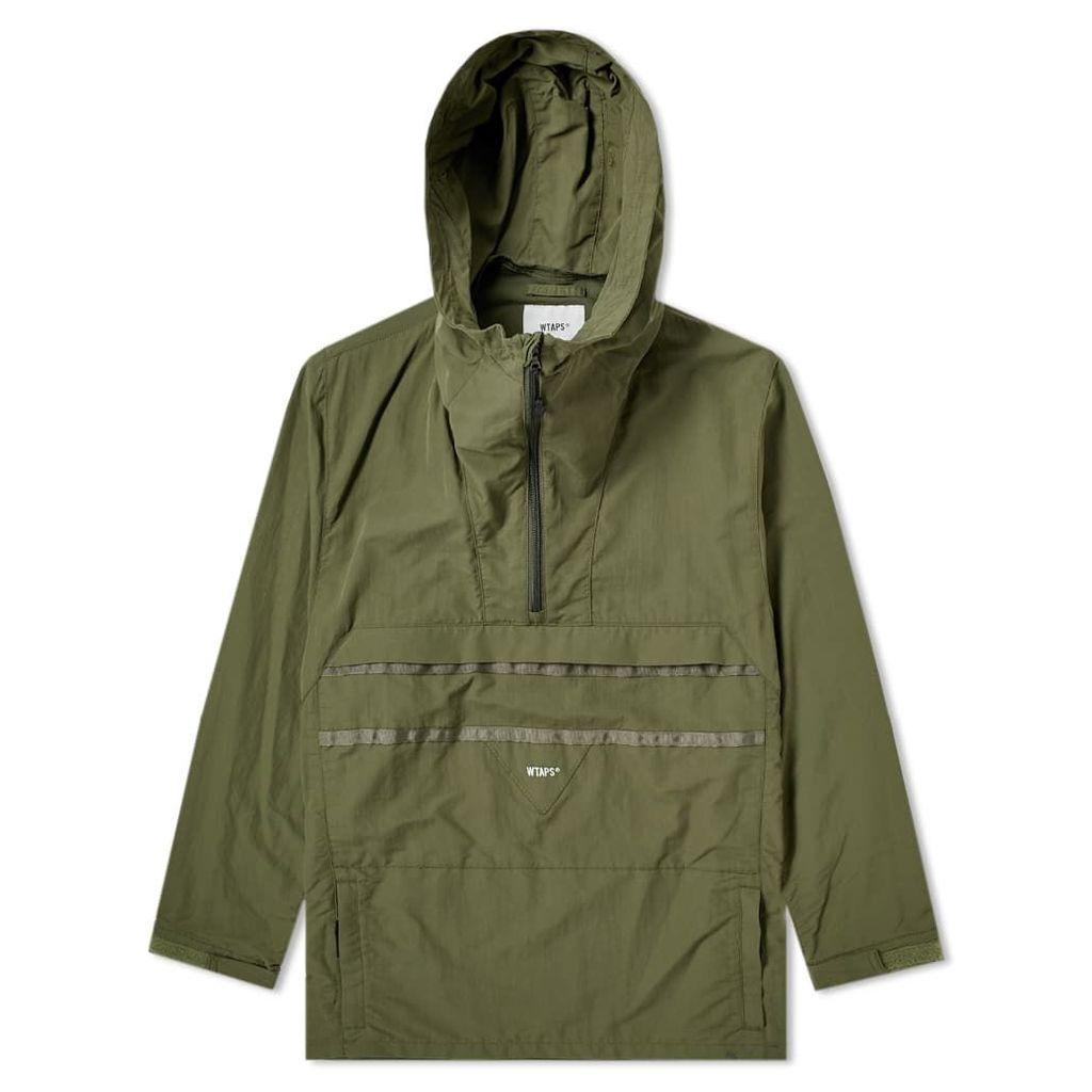WTAPS SBS Tussah Jacket Olive Drab