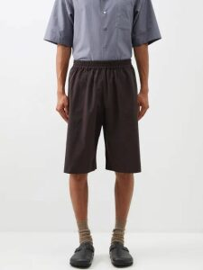 Fusalp - Wengen Ii Striped Wool Sweater - Mens - Light Grey