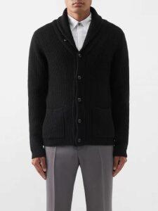 Balenciaga - Embroidered Cotton Blend Sweatshirt - Mens - Black