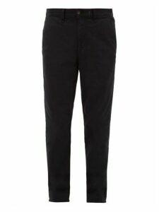 Rag & Bone - Slim Fit Cotton Blend Chino Trousers - Mens - Navy