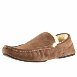 BOSS HUGO BOSS Relax Mocc Slippers Brown