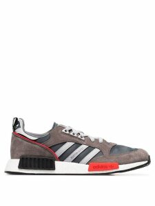 Adidas Never Made multicoloured Boston Super R1 suede sneakers - Grey