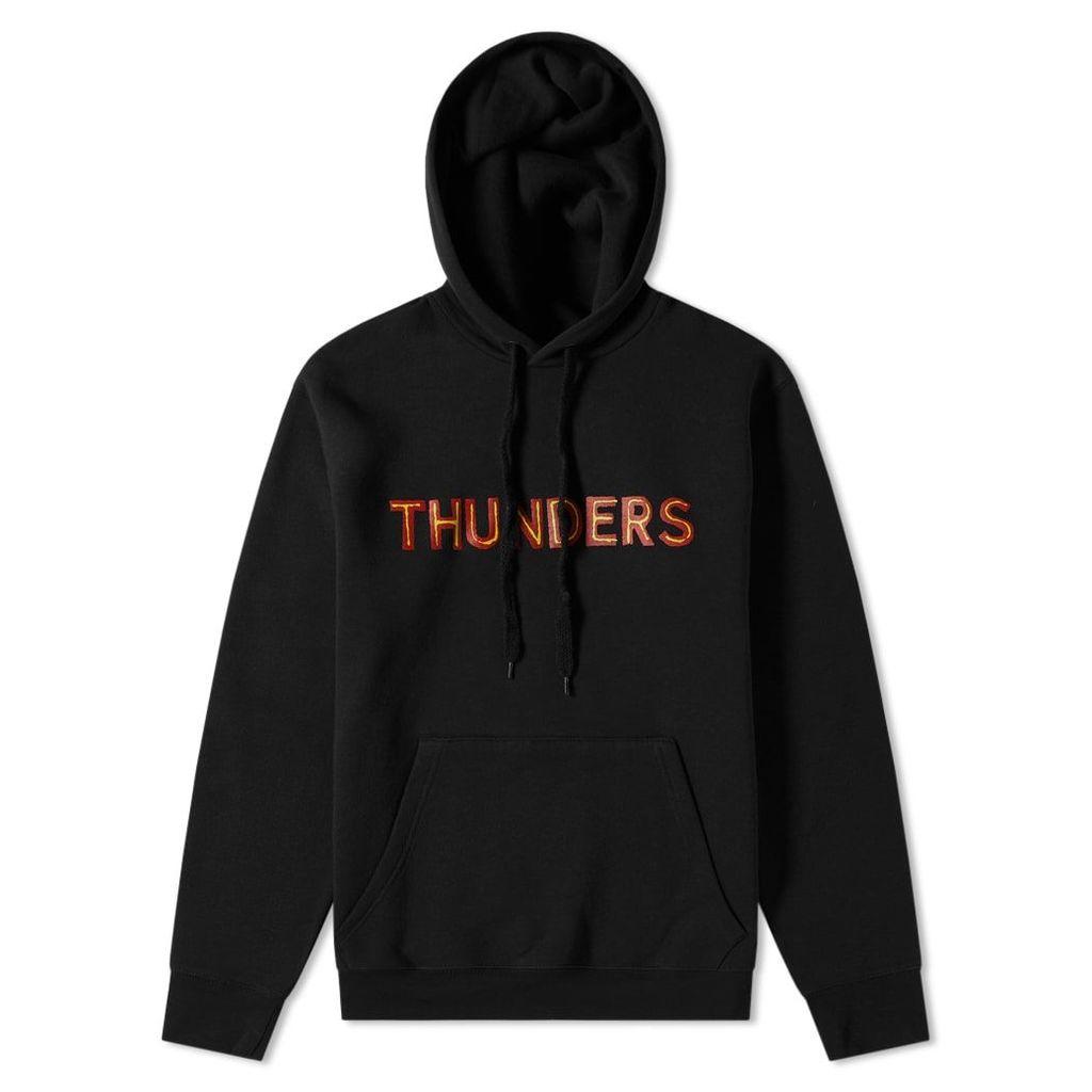 Mr Thunders Core Logo Hoody Black