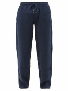 Vilebrequin - Linen Trousers - Mens - Navy