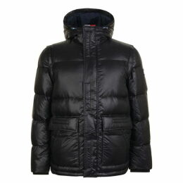 Tommy Hilfiger Shiny Bomber Down Jacket