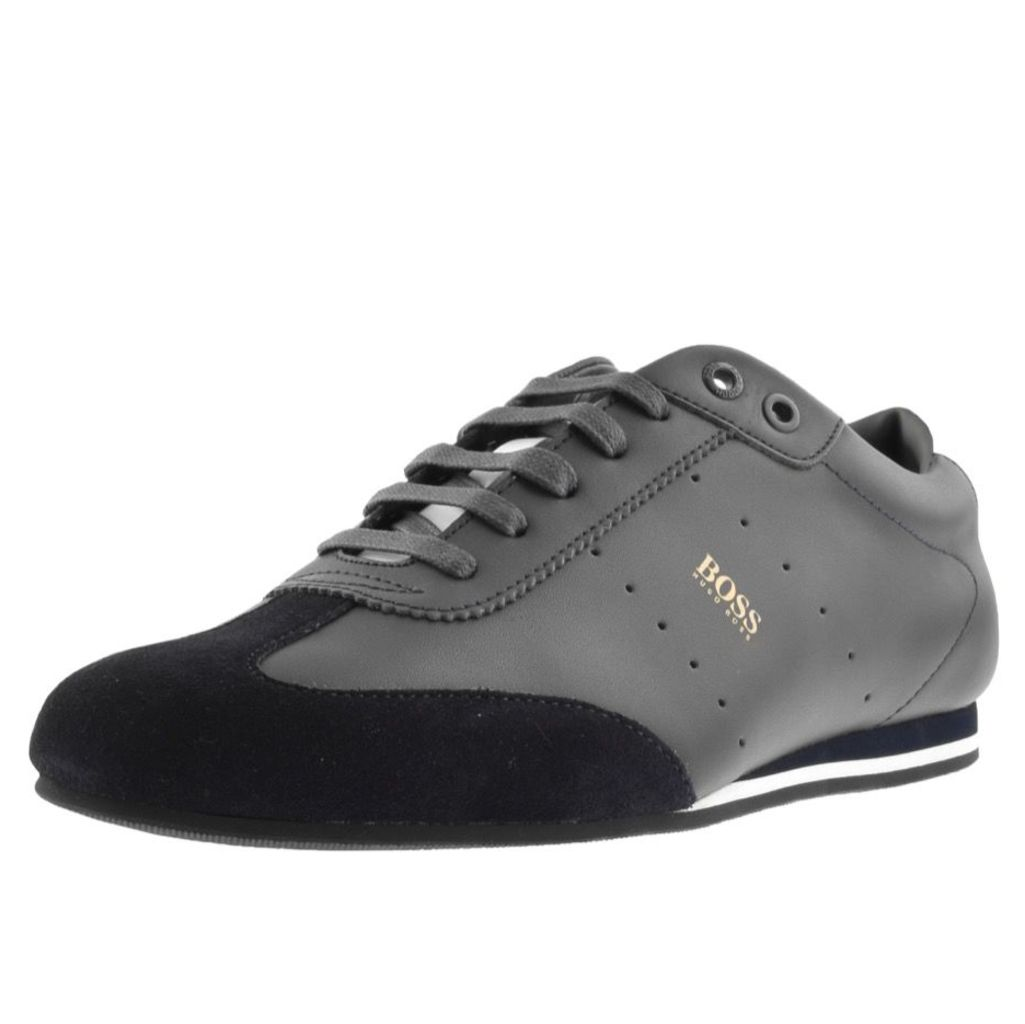 BOSS Casual Lighter Lowp Trainers Navy