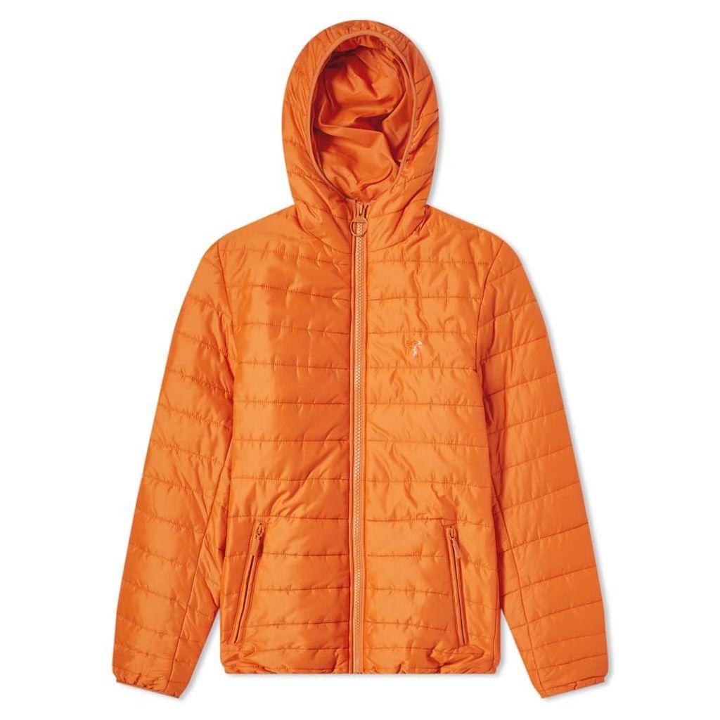 Barbour Birkhouse Quilted Jacket Burnt Orange