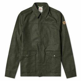 Fjällräven Greenland Re-Wool Shirt Jacket Deep Forest
