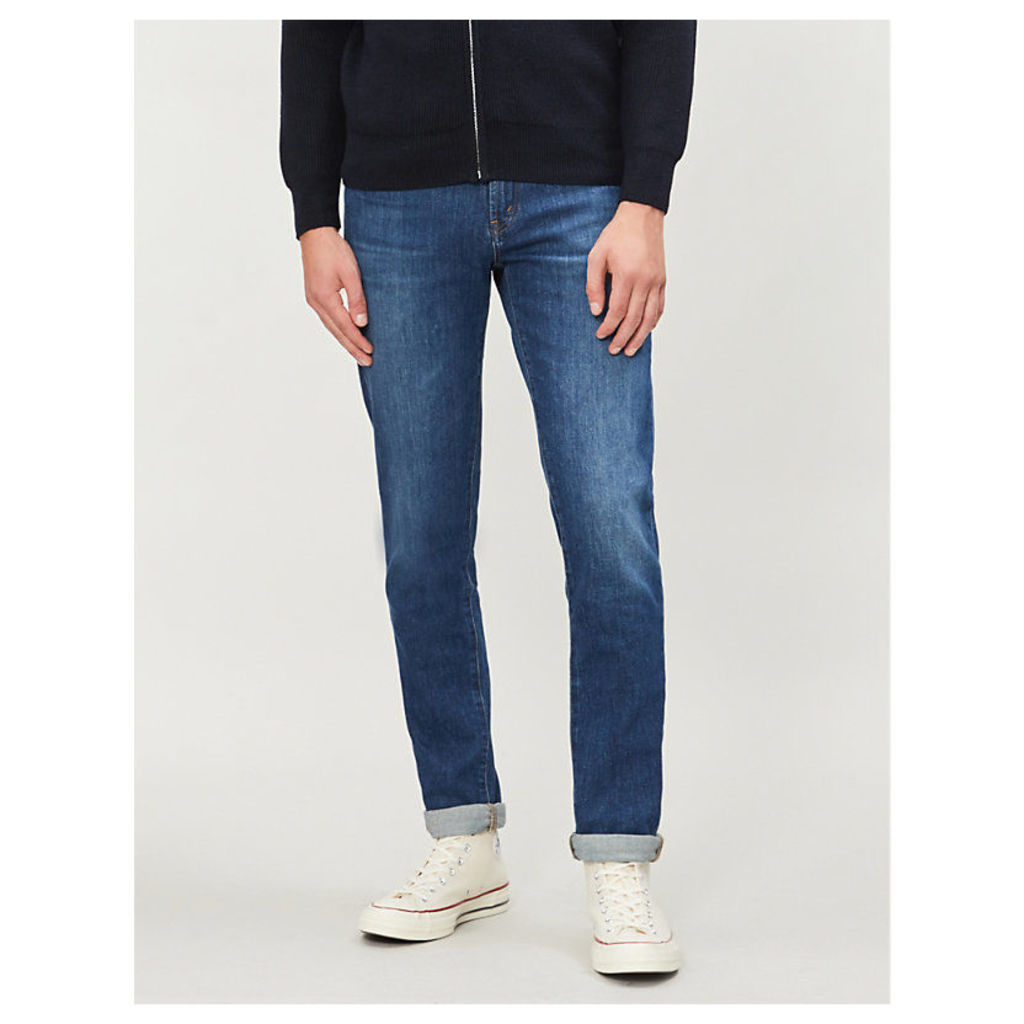 Tyler slim-fit faded tapered jeans