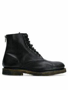 Rocco P. lace-up boots - Black