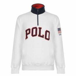 Polo Ralph Lauren Ski Usa Fleece Sweatshirt