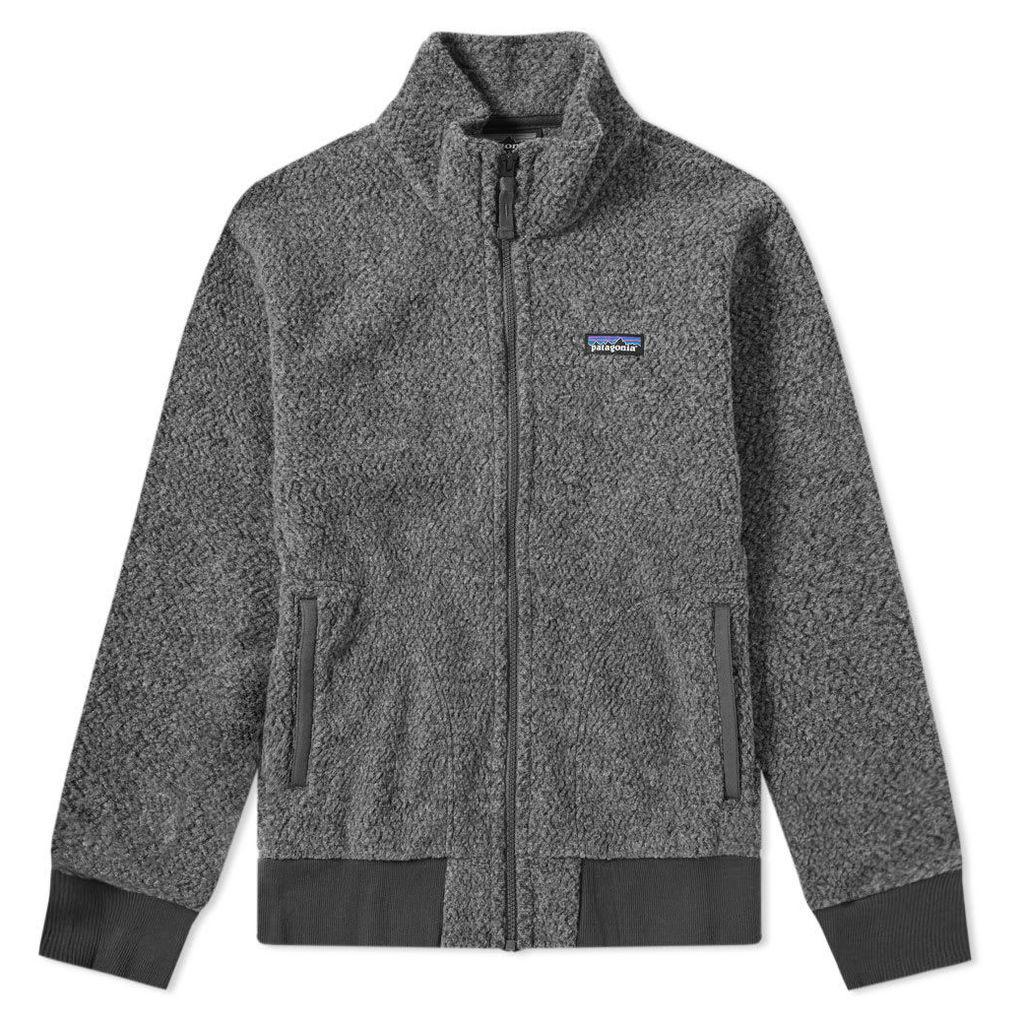 Patagonia Woolyester Fleece Jacket Forge Grey