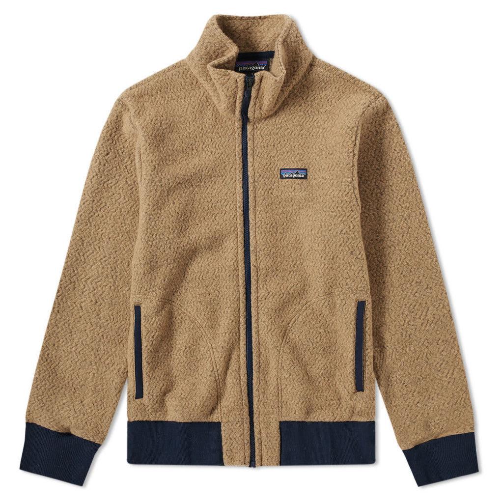 Patagonia Woolyester Fleece Jacket Mojave Khaki