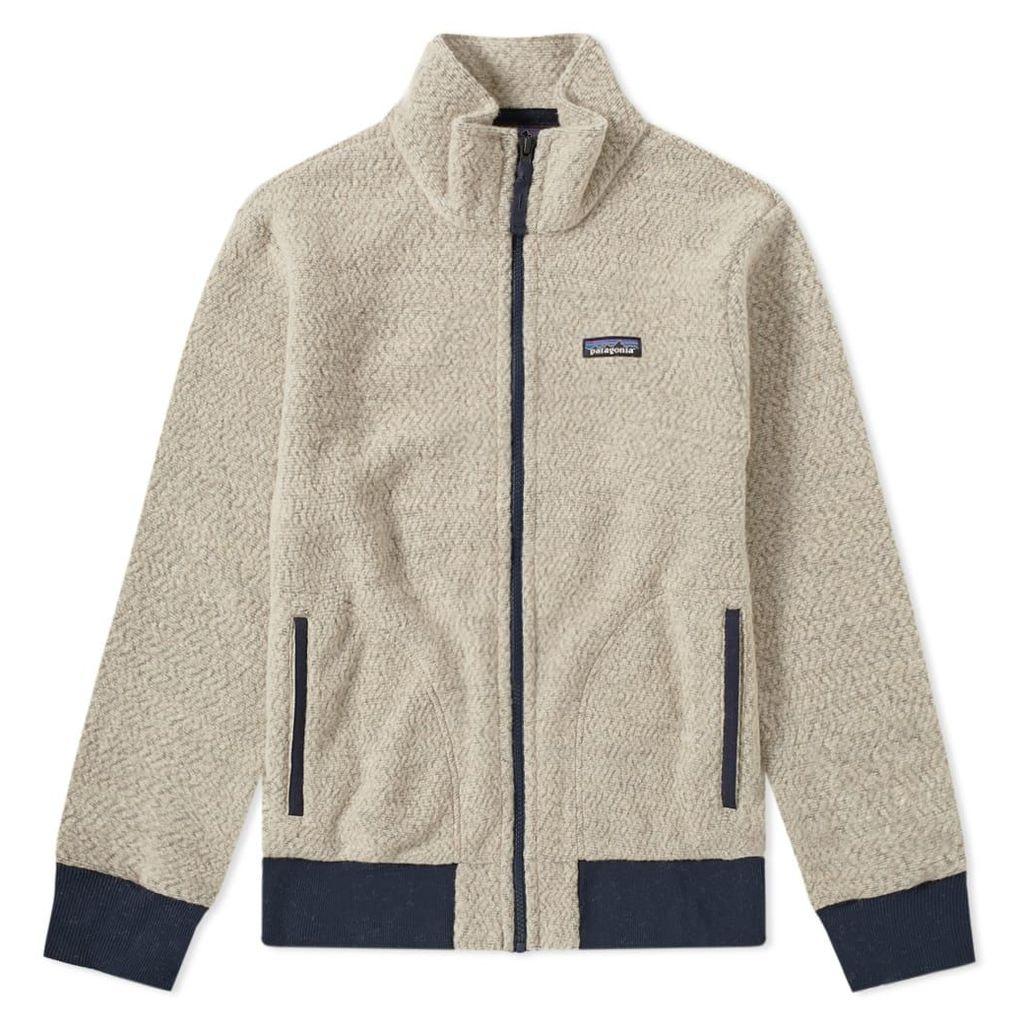 Patagonia Woolyester Fleece Jacket Oatmeal Heather