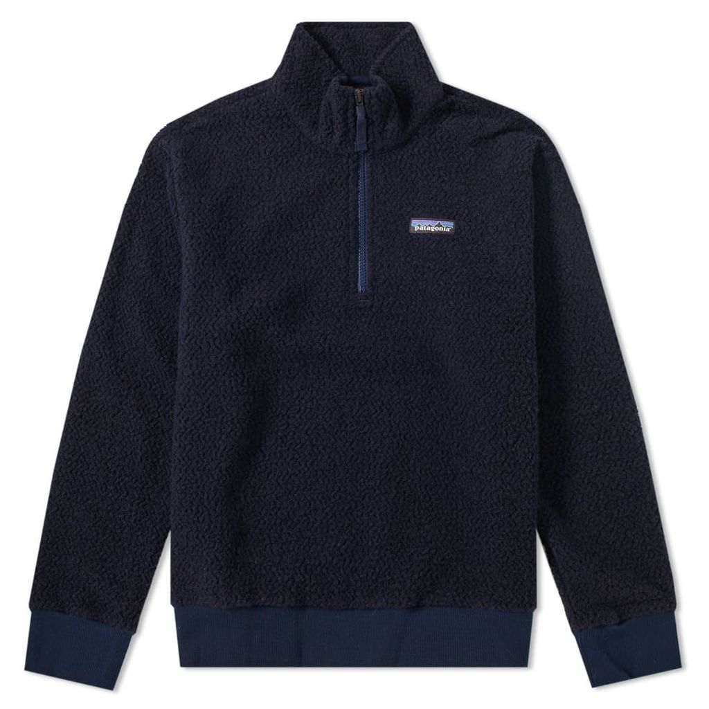 Patagonia Woolyester Pullover Fleece Classic Navy