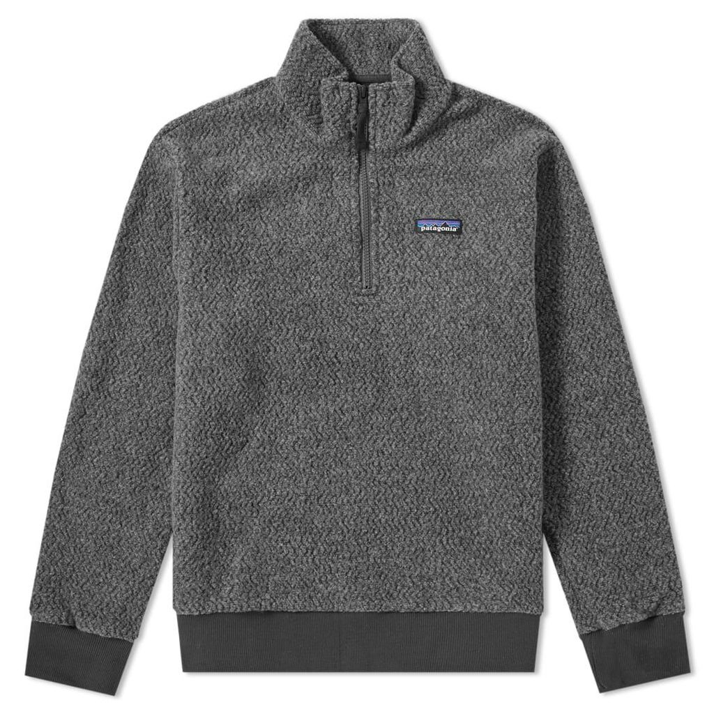 Patagonia Woolyester Pullover Fleece Forge Grey