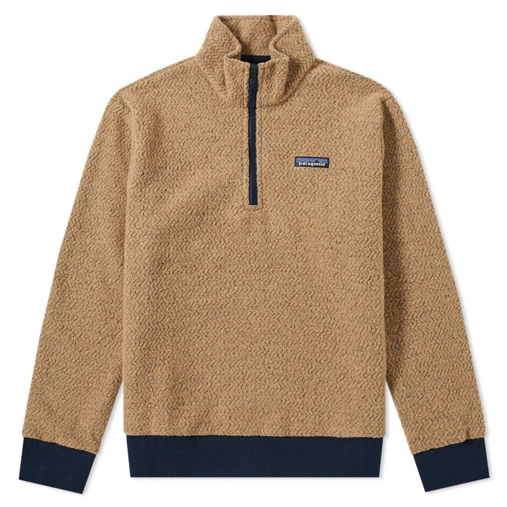 Patagonia Woolyester Pullover Fleece Mojave Khaki