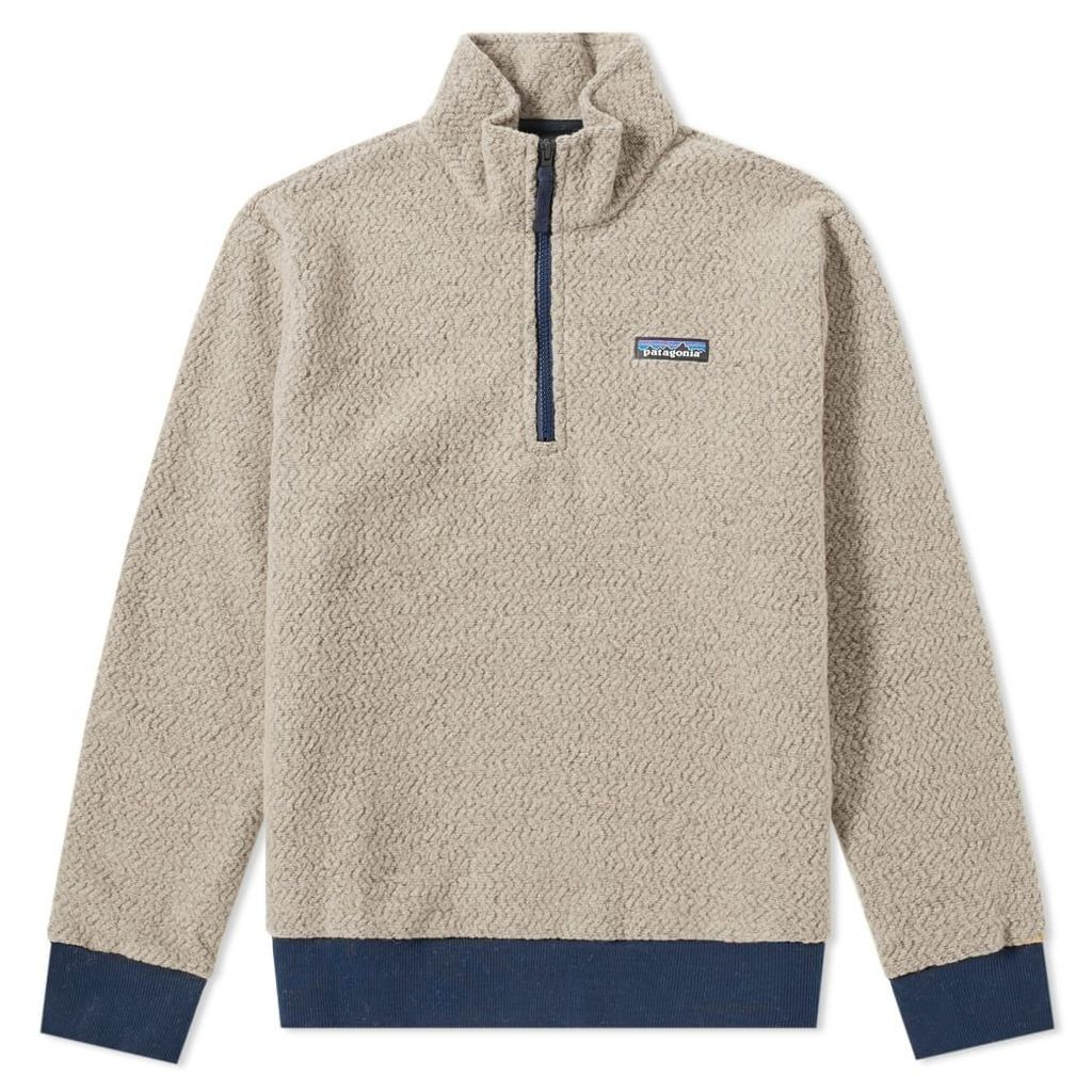 Patagonia Woolyester Pullover Fleece Oatmeal Heather