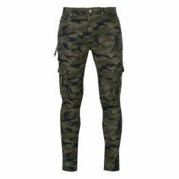 Profound Aesthetic Camo Cargo Pants