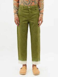 Acne Studios - 1996 Straight Leg Jeans - Mens - Blue