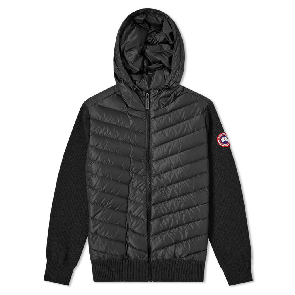 Canada Goose Hybridge Knit Hoody Black