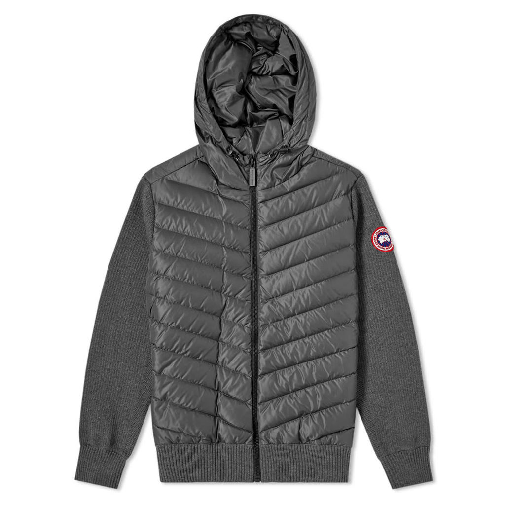 Canada Goose Hybridge Knit Hoody Iron Grey