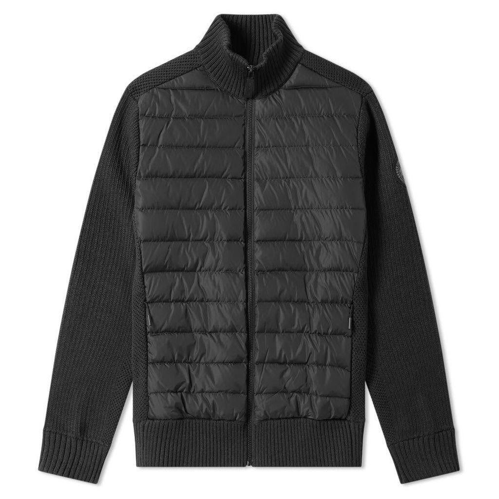 Canada Goose Hybridge Knit Jacket Black