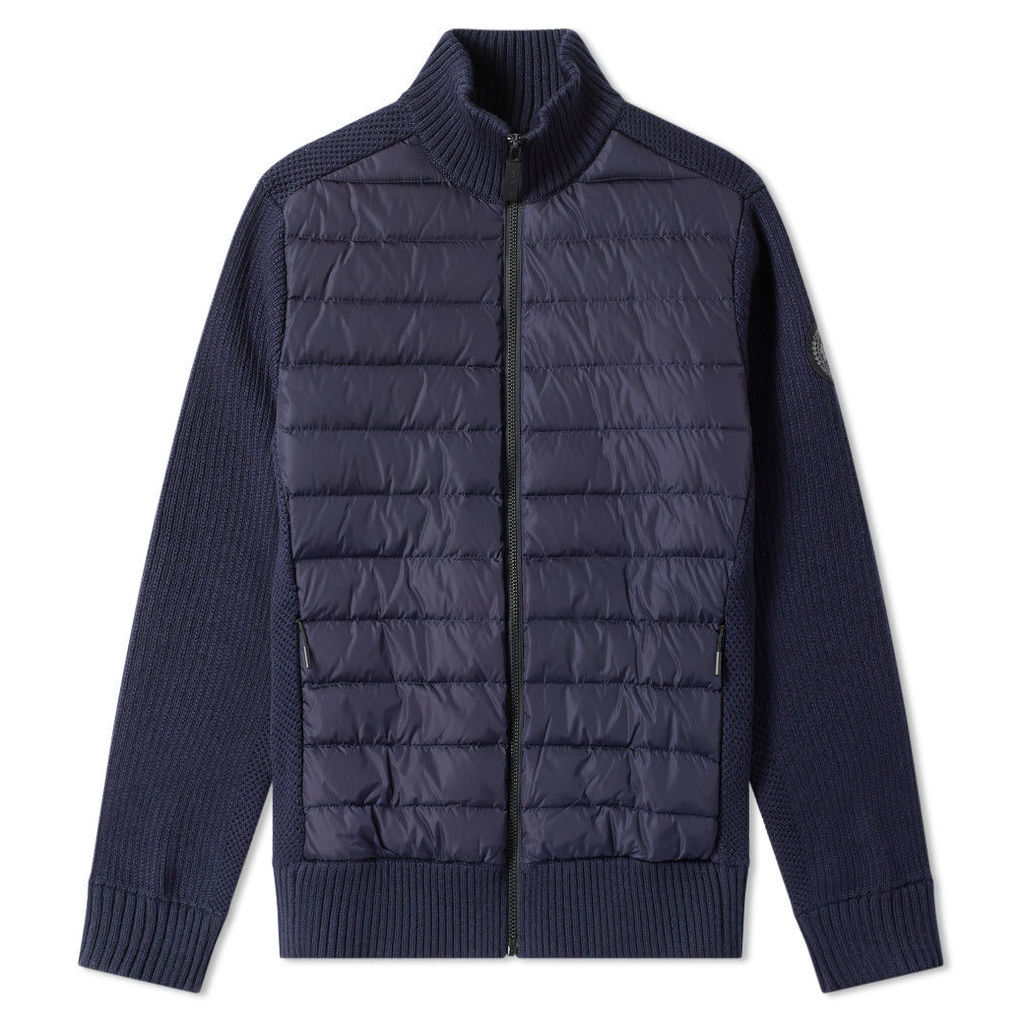 Canada Goose Hybridge Knit Jacket Navy