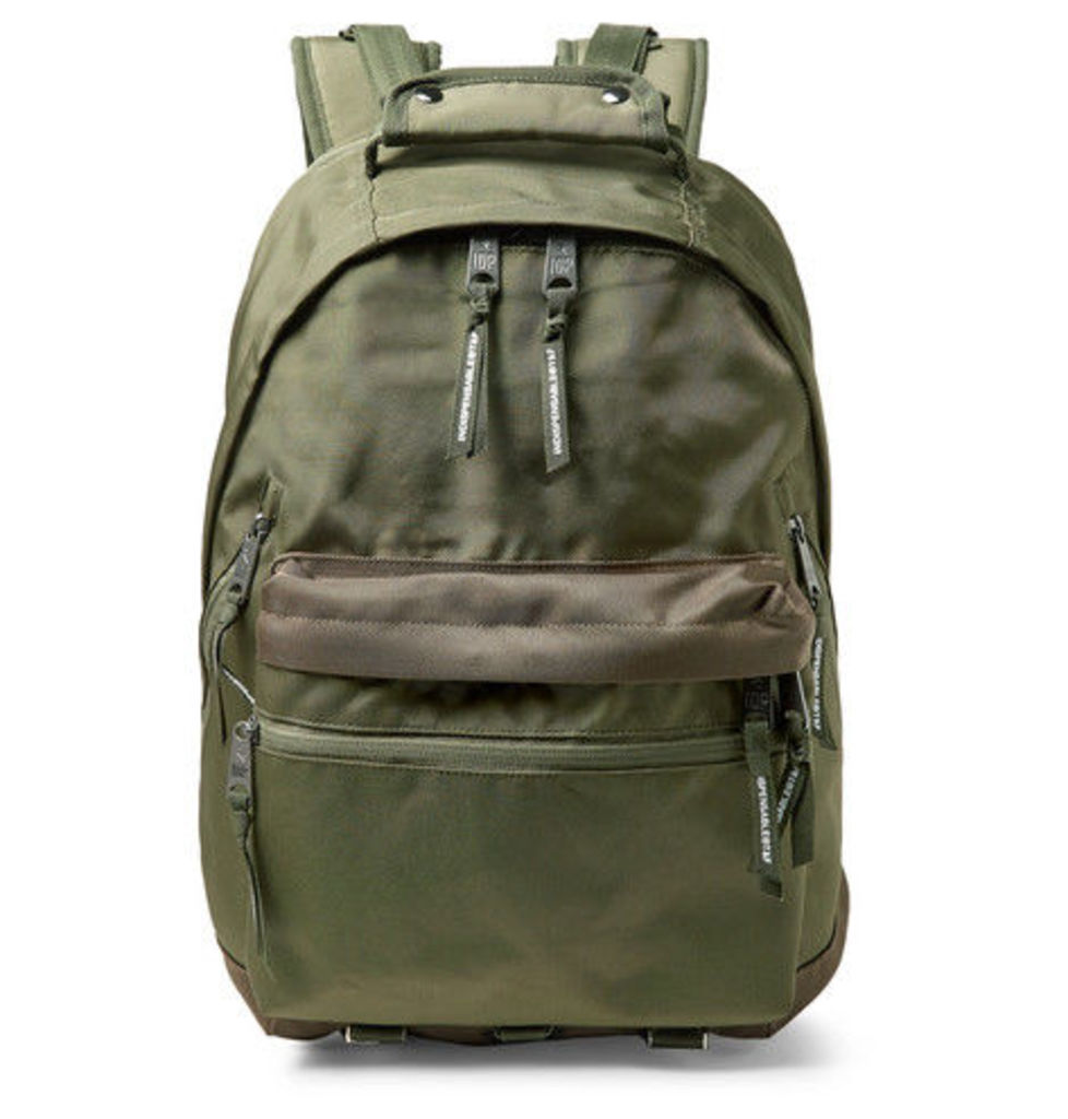 Indispensable - Fusion Canvas Backpack - Army green