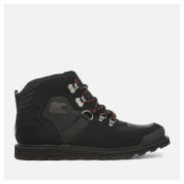 Sorel Men's Madson Sport Hiker Style Boots - Black - UK 10