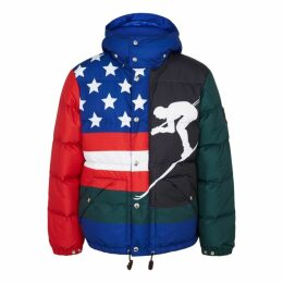 Polo Ralph Lauren Printed Quilted Shell Jacket