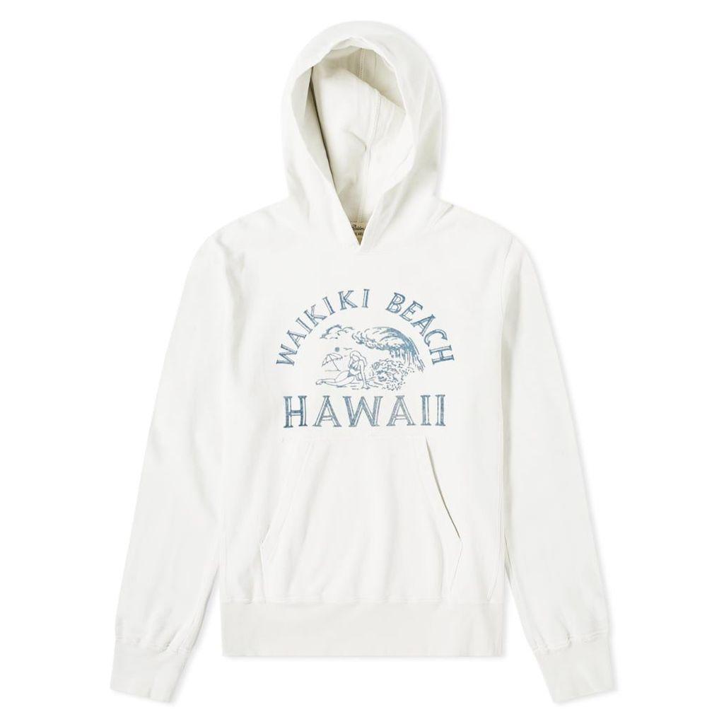 Remi Relief Waikiki Beach Hoody Off White