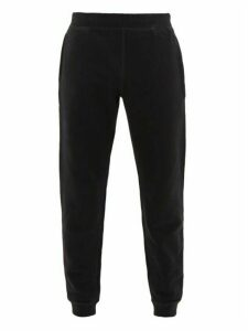 Sunspel - Cotton Blend Track Pants - Mens - Black