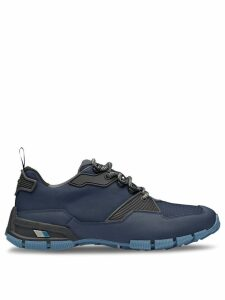 Prada Fabric and leather Crossection sneakers - Blue