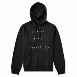 424 x Sean from Texas Don't Buy Anything Hoody Black