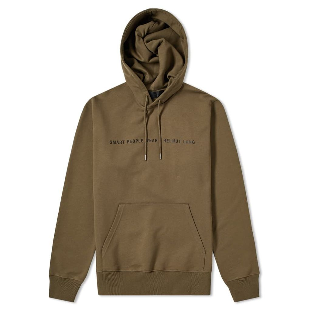 Helmut Lang Smart People Popover Hoody Military & Black