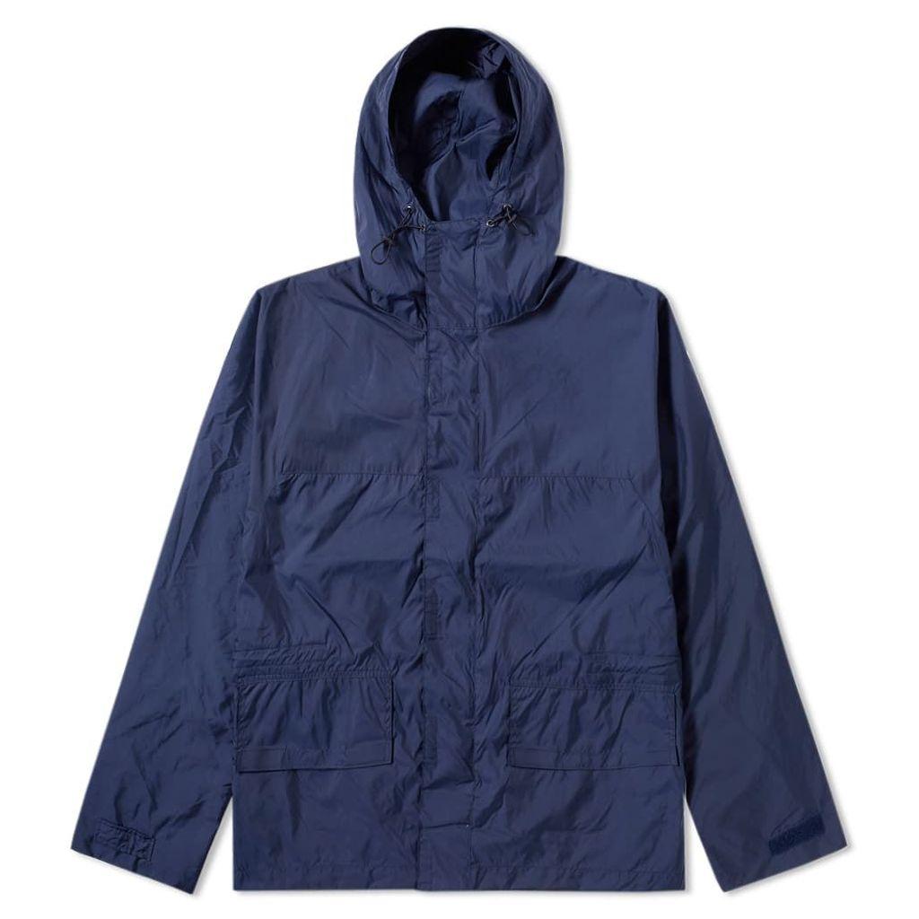 Our Legacy Foul Weather Jacket Blue Nylon