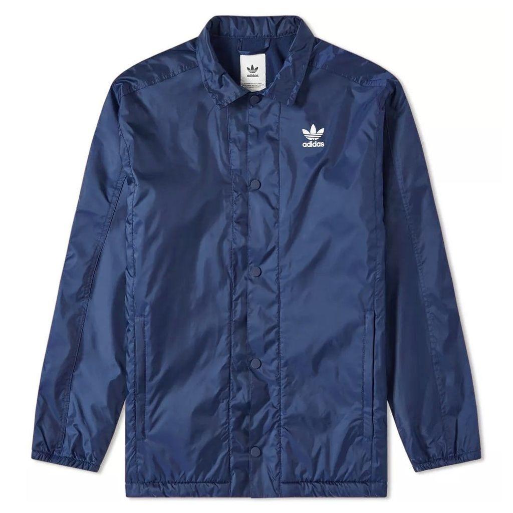 Adidas Winterised Coach Jacket Collegiate Navy
